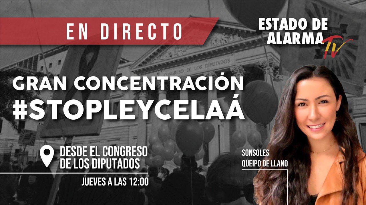 EN DIRECTO | MANIFESTACIÓN frente al CONGRESO contra la LEY CELAÁ
