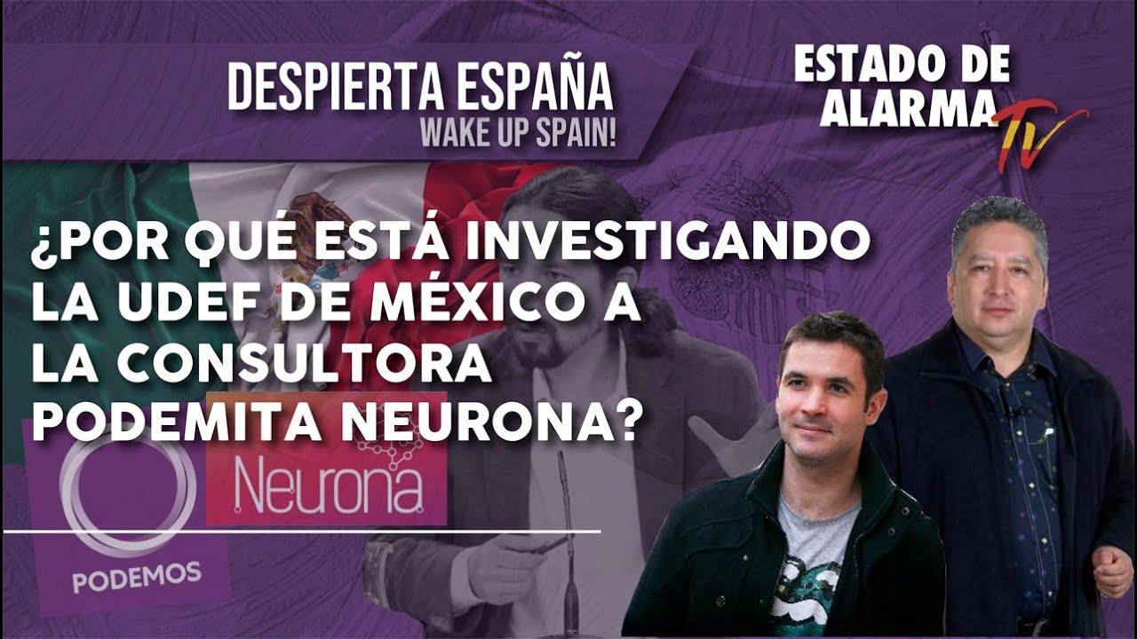 ¿Por qué está INVESTIGANDO la UDEF de México a la consultora PODEMITA NEURONA?