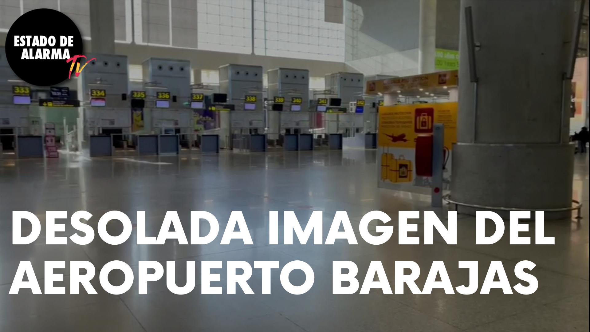 RUINA: El AEROPUERTO DE BARAJAS VACÍO