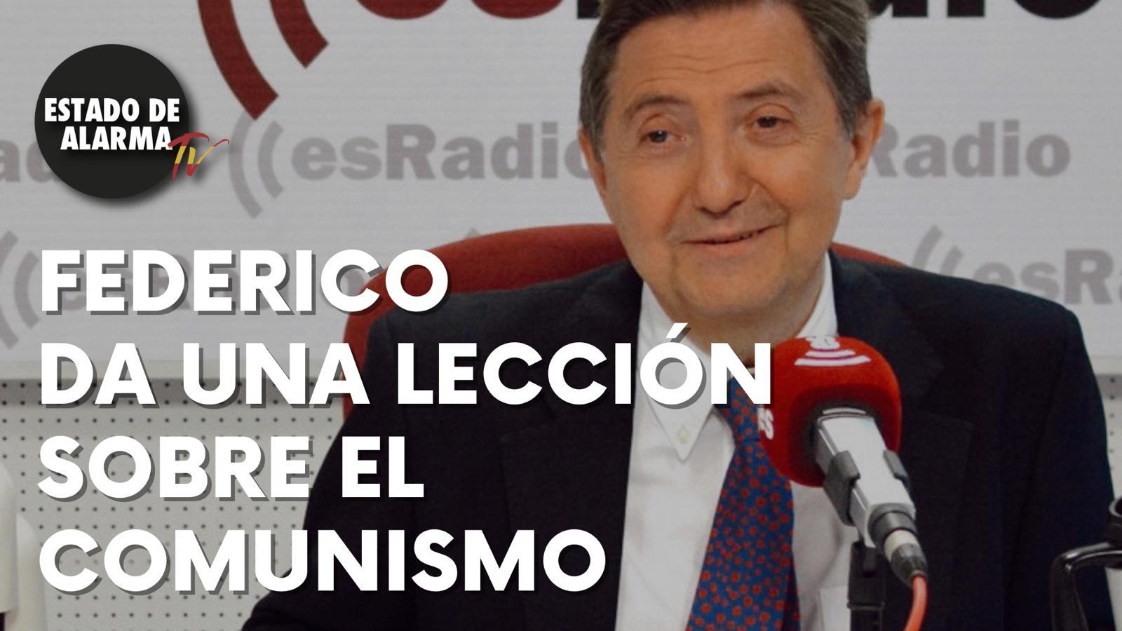 La magistral lección sobre comunismo de Federico Jiménez Losantos