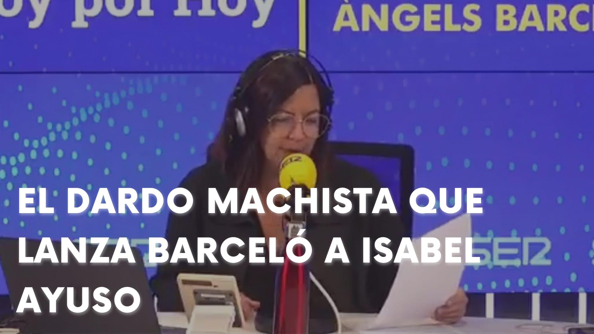 El ASQUEROSO MACHISMO DE BARCELÓ contra DÍAZ AYUSO