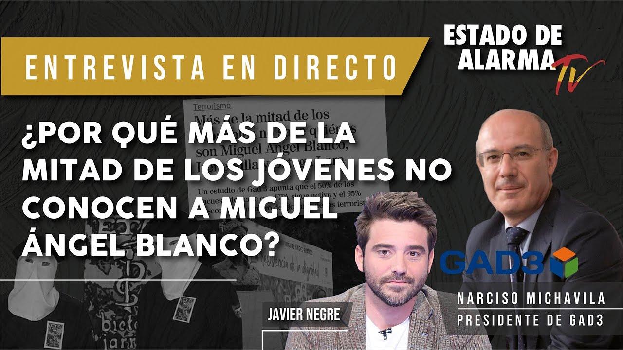 ¿Por qué MÁS DE LA MITAD de los JÓVENES NO CONOCEN a Miguel Ángel Blanco?