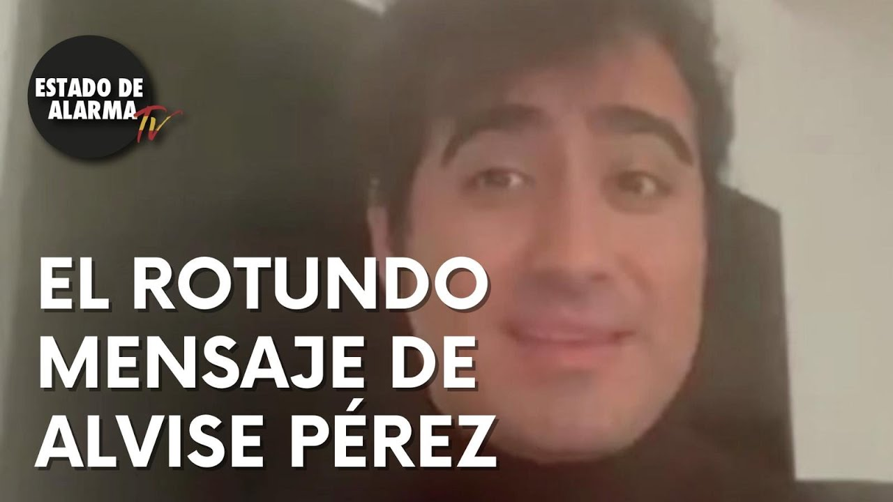 El CONTUNDENTE mensaje de ALVISE PÉREZ tras ser censurado en TWITTER