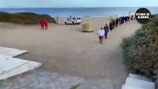 Este vídeo NO lo verás en los MEDIOS PROGRES. Canarias, la Lampedusa española.