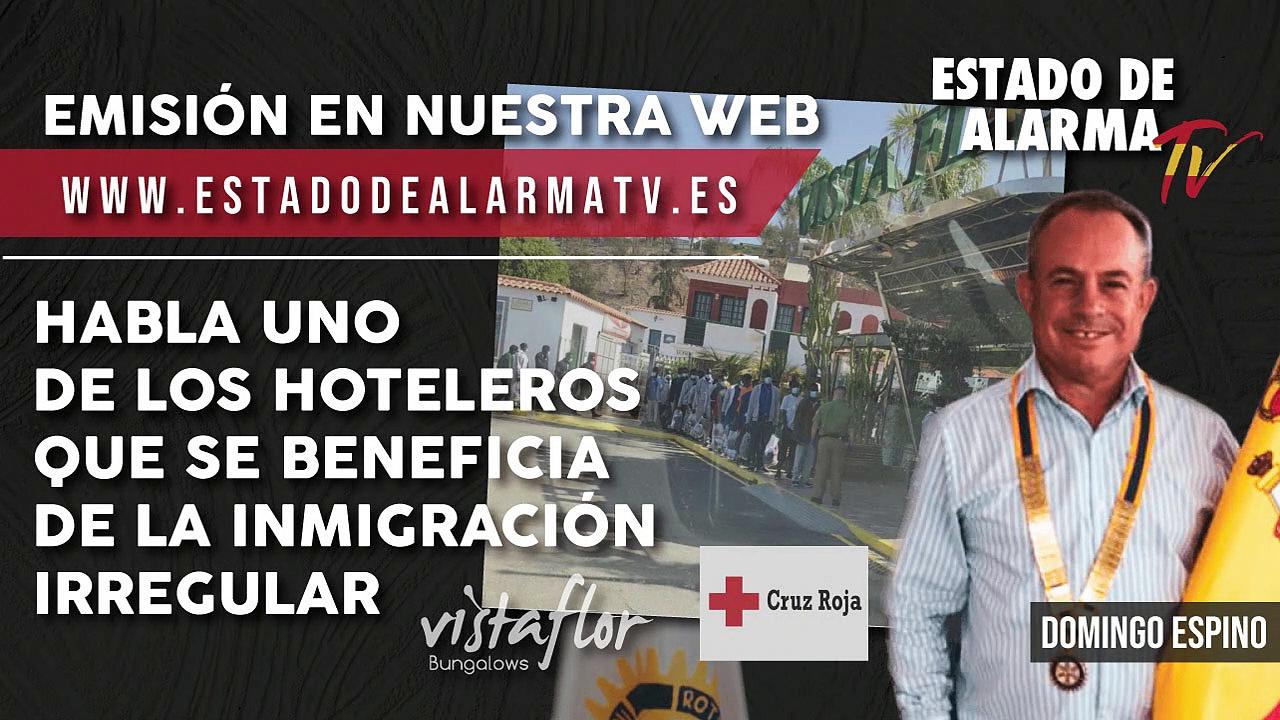 Habla uno de los hoteleros que se beneficia de la inmigración irregular