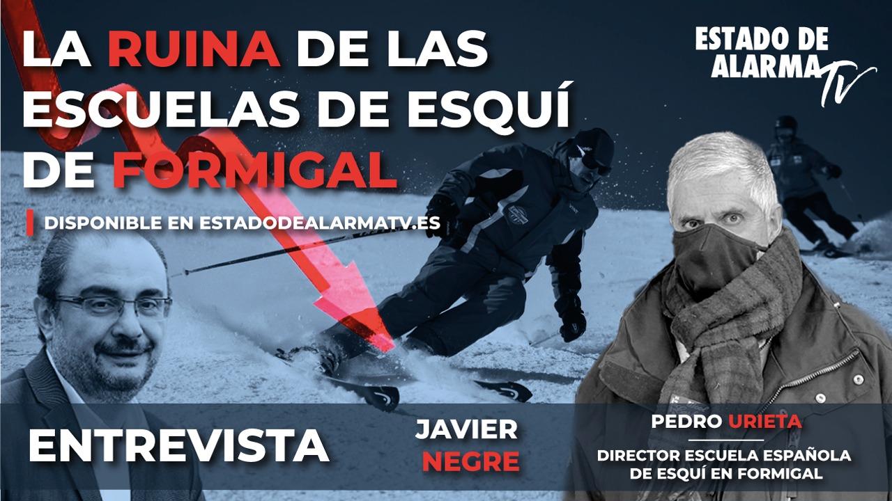 ENTREVISTA a PEDRO URIETA, director ESCUELA ESPAÑOLA de ESQUÍ en FORMIGAL. La RUINA de las ESCUELAS de ESQUÍ de FORMIGAL