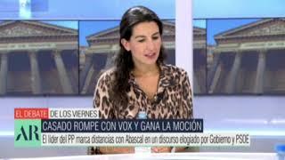 El MONUMENTAL RIFIRRAFE entre ROCÍO MONASTERIO y ALEJANDRO FERNÁNDEZ por la moción de censura.