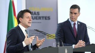 DIRECTO Rueda de prensa de Pedro Sánchez y Giuseppe Conte