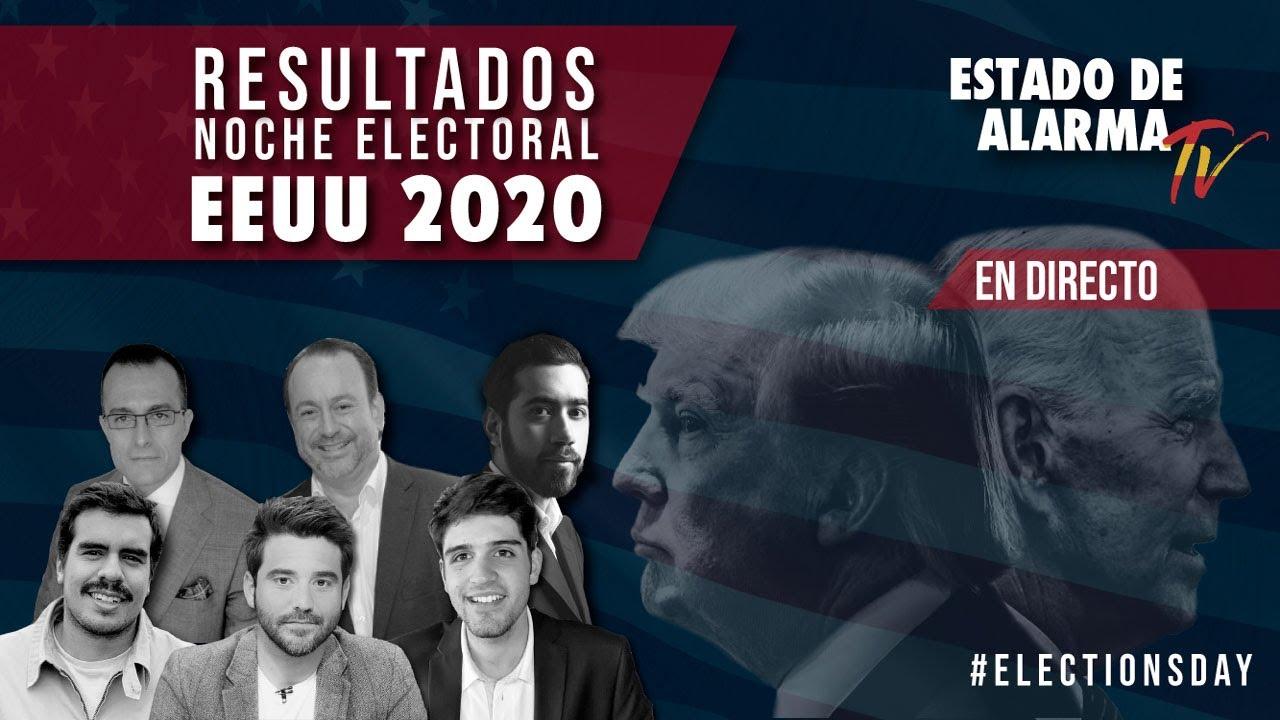 ESPECIAL RESULTADOS NOCHE ELECTORAL EE.UU. 2020: TRUMP VS BIDEN
