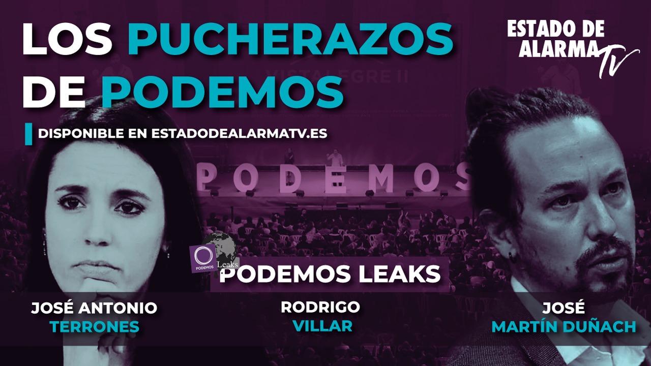 PODEMOS LEAKS con RODRIGO VILLAR. Los PUCHERAZOS de PODEMOS