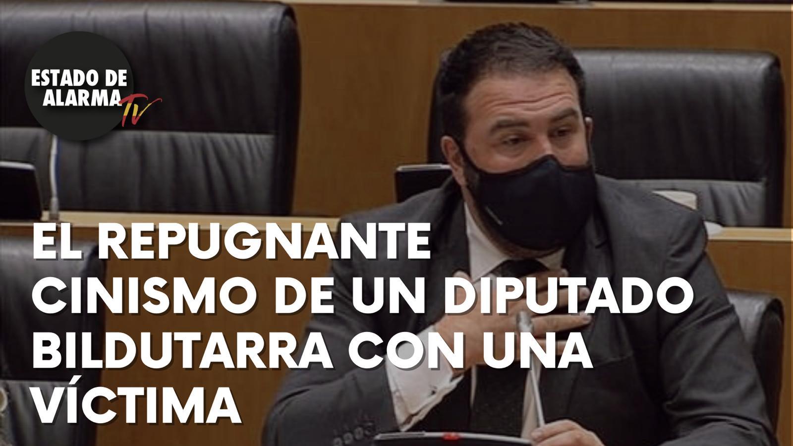 VEAN el REPUGNANTE CINISMO de un diputado BILDUTARRA con una VÍCTIMA