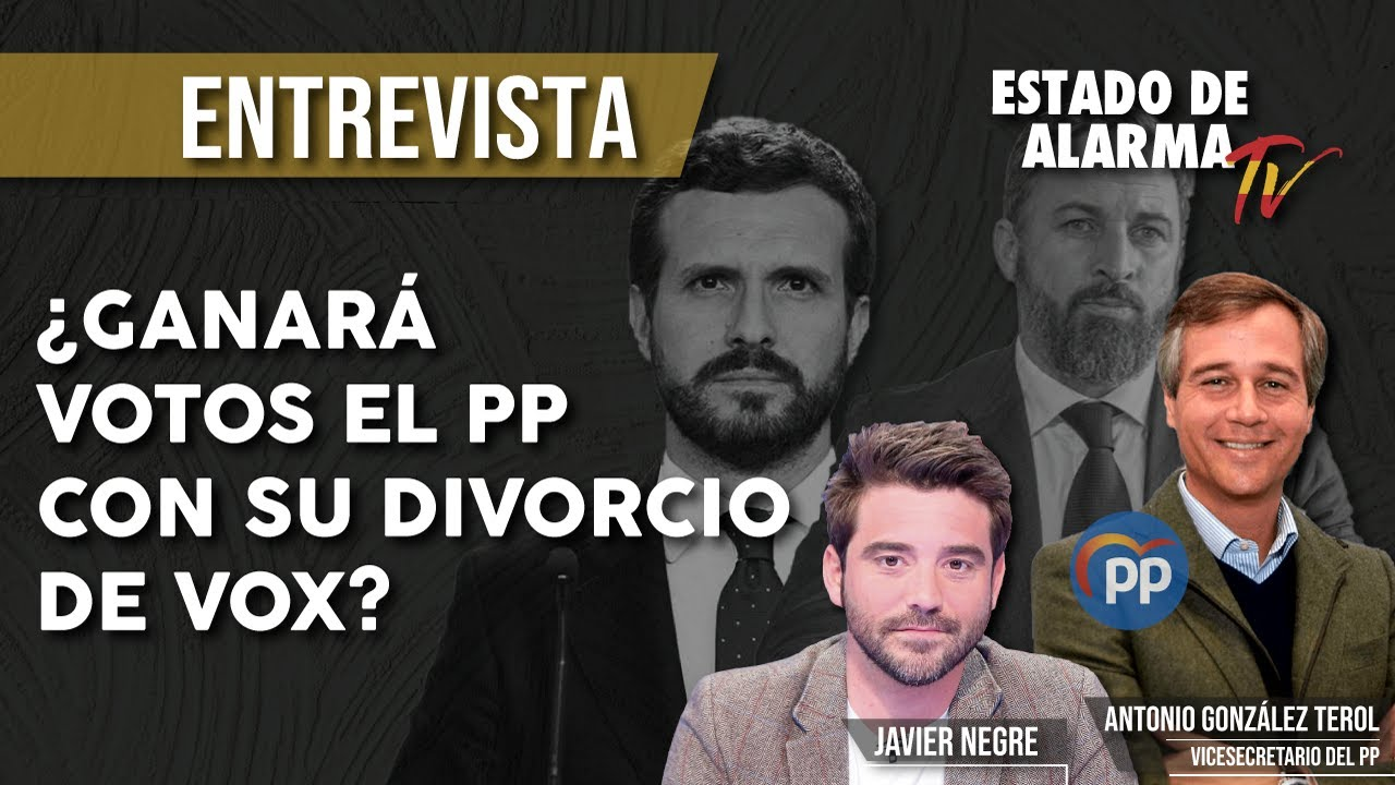EN DIRECTO: entrevista a ANTONIO GONZÁLEZ TEROL, ¿GANARÁ VOTOS el PP con su DIVORCIO con VOX?