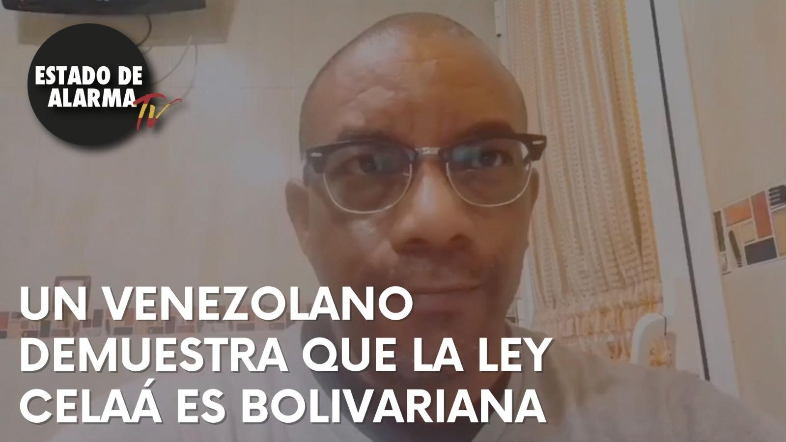 VEAN a un venezolano explicar que la LEY CELAÁ es un calco BOLIVARIANO para robar a nuestros hijos