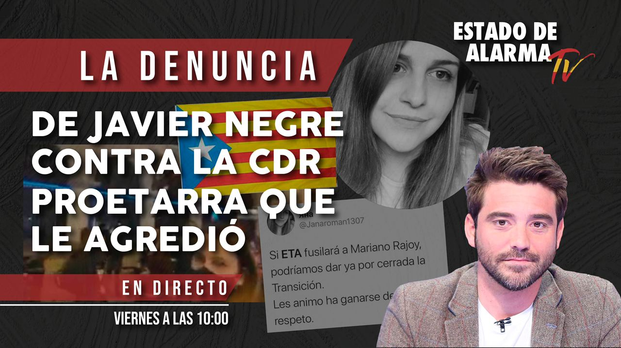 DIRECTO NEGRE interpone DENUNCIA contra la CDR proetarra que le agredió en Barcelonap