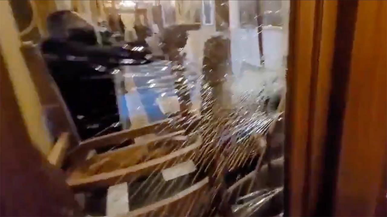Vea el instante en el que una manifestante recibía un disparo mortal ayer en el Capitolio