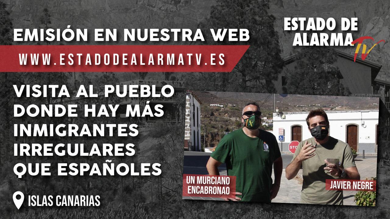 VISITA al PUEBLO donde hay MÁS INMIGRANTES IRREGULARES que ESPAÑOLES