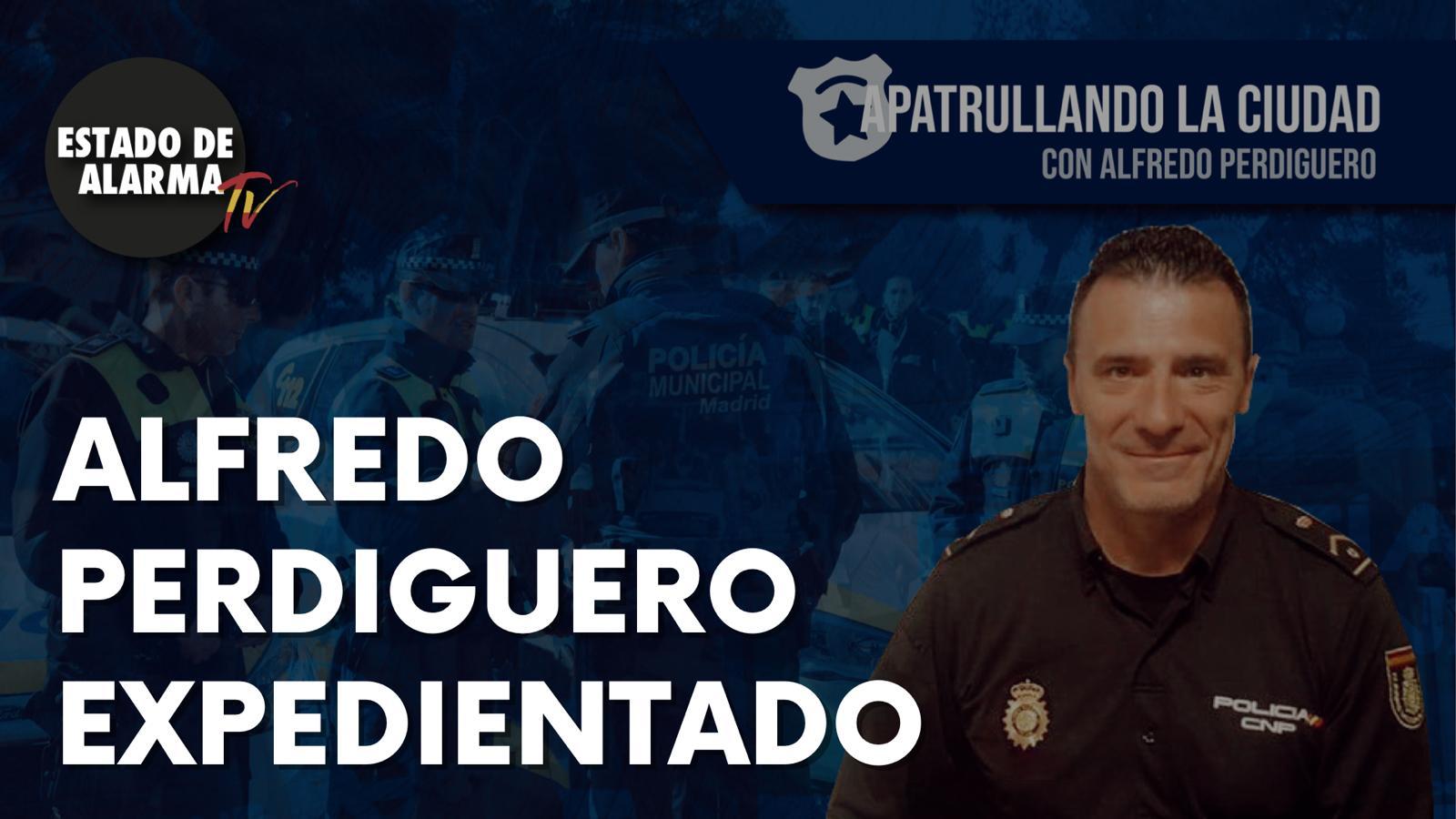 El vídeo de Perdiguero en Estado de Alarma por el que Interior le ha abierto un expediente disciplinario