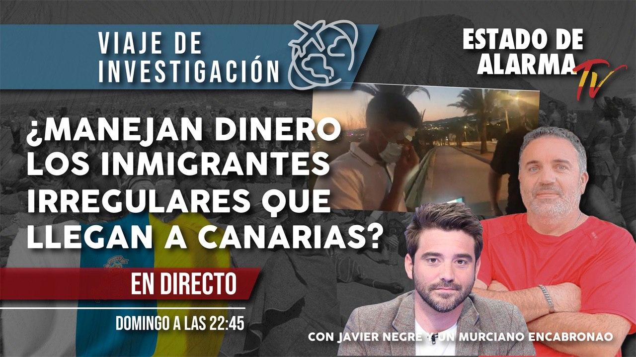 DIRECTO UN MURCIANO ENCABRONAO ¿Manejan DINERO los INMIGRANTES IRREGULARES que llegan a Canarias?