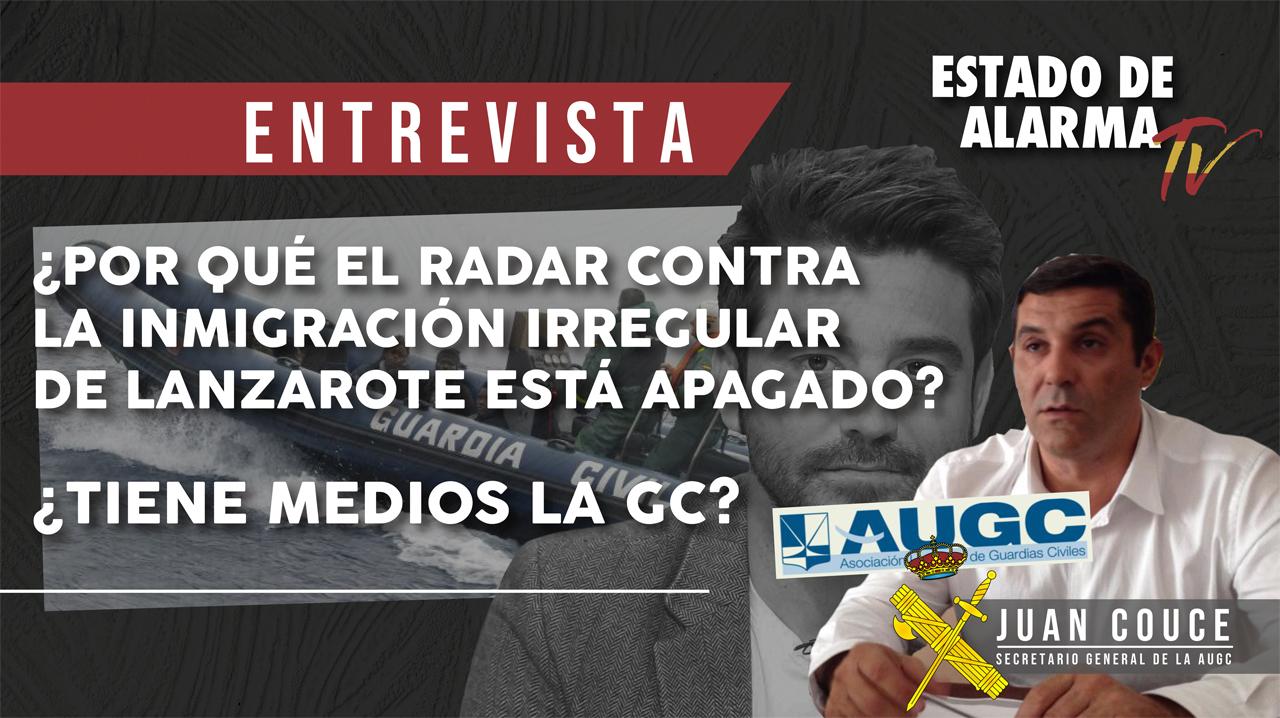 ¿Por qué el radar contra la inmigración irregular de Lanzarote está apagado? ¿Tiene medios la Guardia Civil?