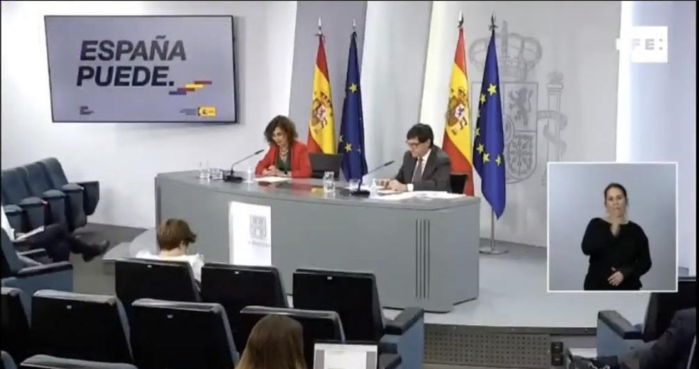 DIRECTO Rueda de prensa de la portavoz María Jesús Montero tras Consejo de Ministros