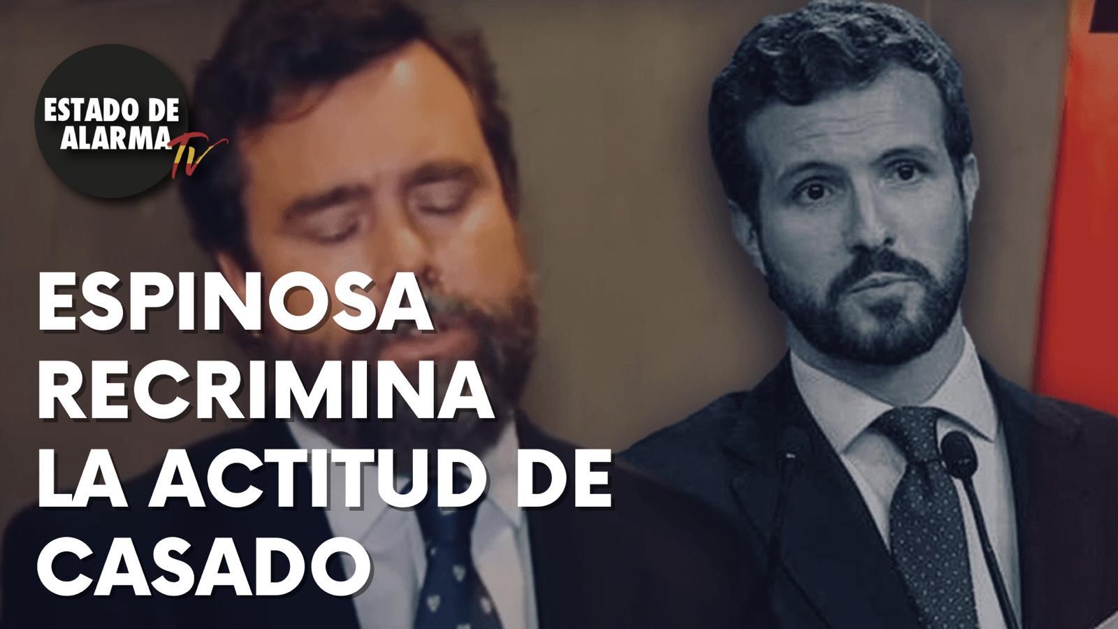 ¿Qué opina Iván Espinosa de los ataques de Casado a Abascal?