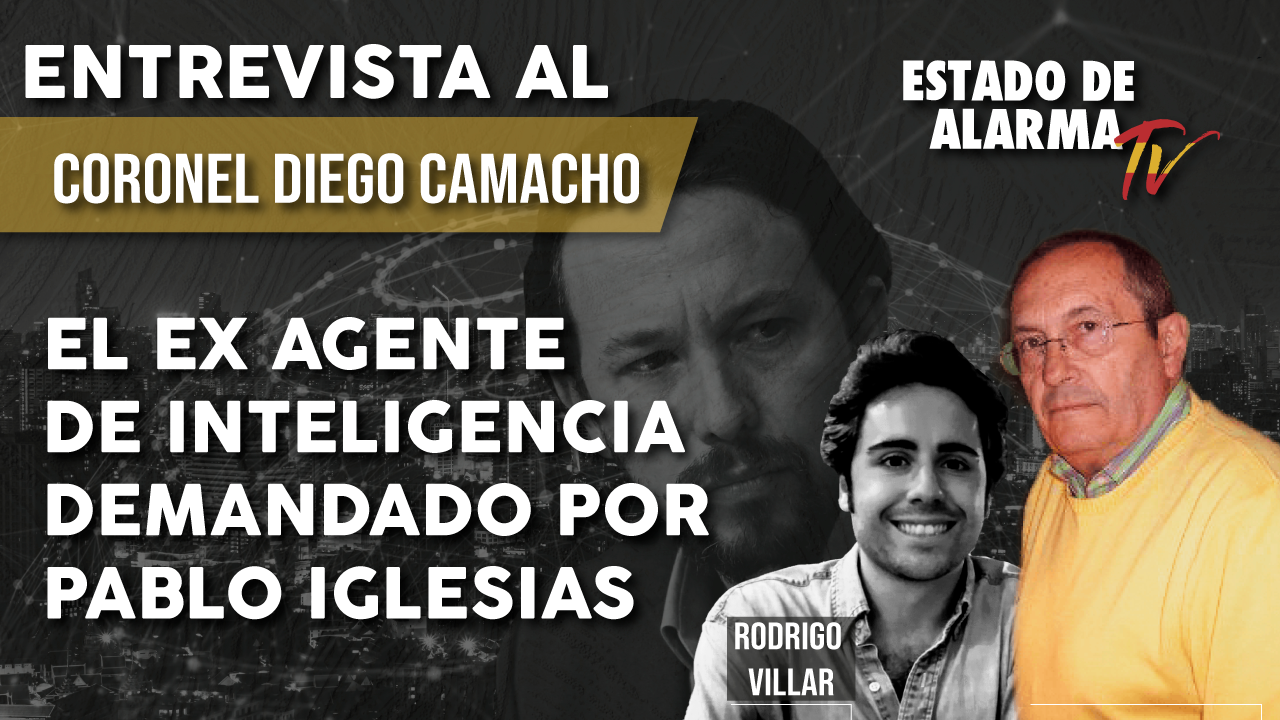 ENTREVISTA: El ex AGENTE de INTELIGENCIA DEMANDADO por Pablo IGLESIAS