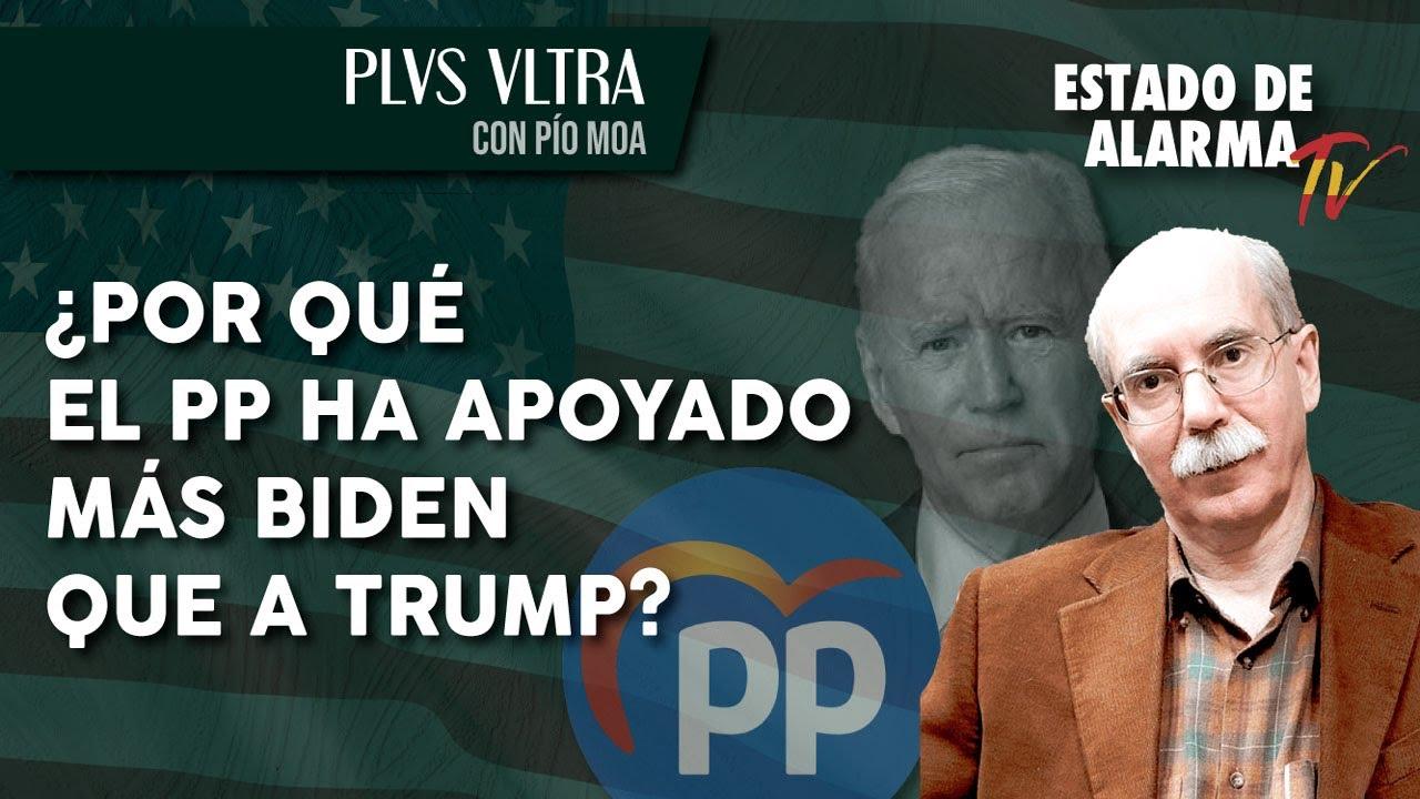 ¿Por qué el PP ha apoyado más a Biden que a Trump?